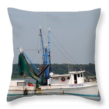 Returning To Harbor Throw Pillow