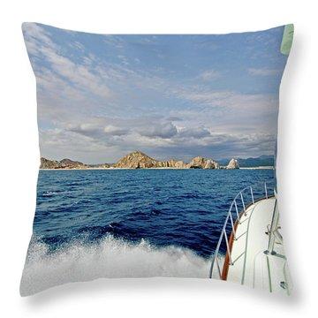 Returning To Port Throw Pillow