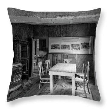 Throw Pillow featuring the photograph Returning To The Past by Sandra Bronstein