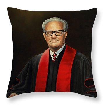 Rev Joe Phillips Throw Pillow