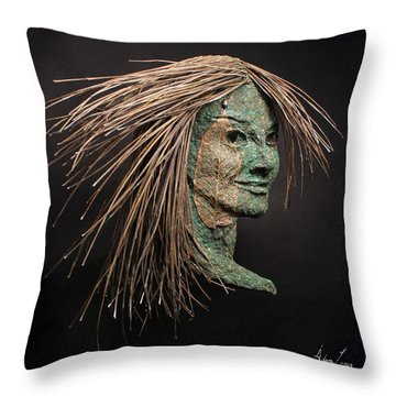 Revealed Throw Pillow by Adam Long