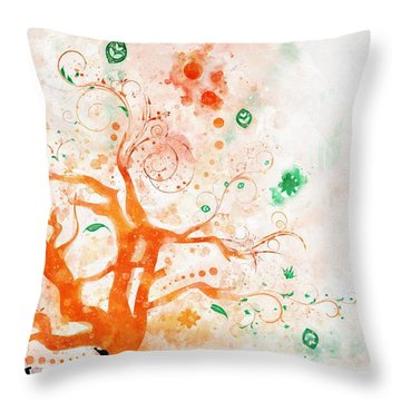 Revelation 22-2 Throw Pillow