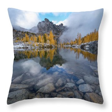 Throw Pillow featuring the photograph Revelation by Dustin LeFevre
