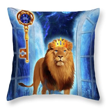 Revelation Gate Throw Pillow