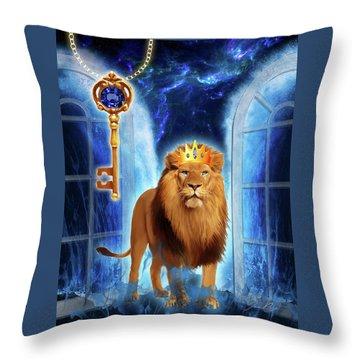 Revelation Gate Throw Pillow