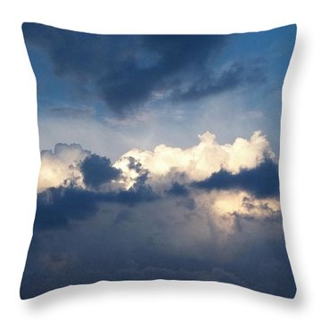Revelation One-seven Throw Pillow by Glenn McCarthy Art and Photography