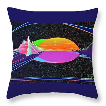 Revelations New Earth Throw Pillow