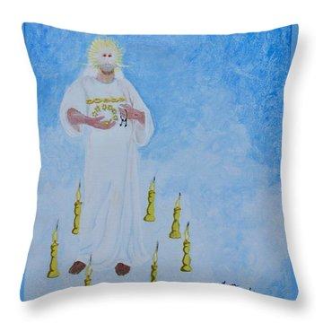 Revelations One Throw Pillow
