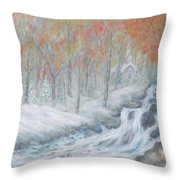 Reverence Throw Pillow by Ben Kiger