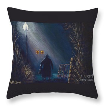 Reverend Hadley Jorgensen Throw Pillow
