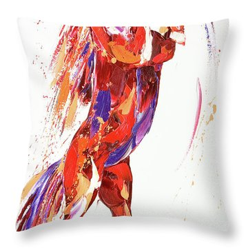 Reverie Throw Pillow by Penny Warden
