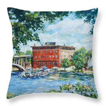 Rever's Marina Throw Pillow