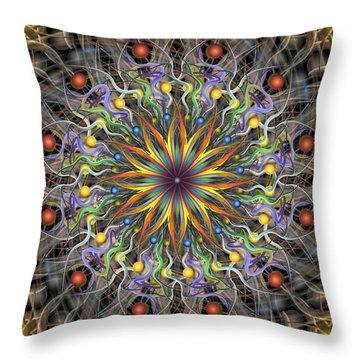 Reverse Cosmosis Throw Pillow
