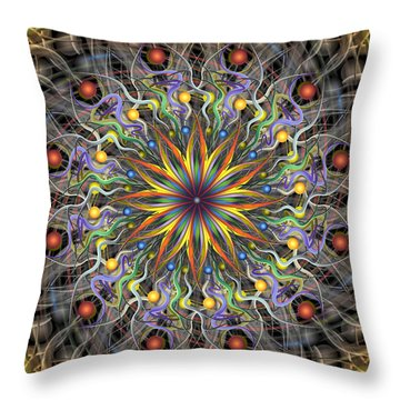 Reverse Cosmosis Throw Pillow