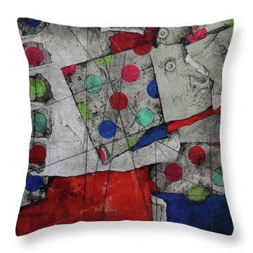 Revert To Happy  Throw Pillow