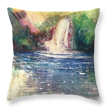 Revisiting Refreshing Throw Pillow