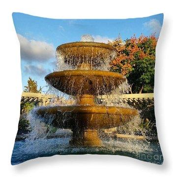 Revitalize  Throw Pillow