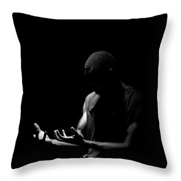 Throw Pillow featuring the photograph Revive by Eric Christopher Jackson
