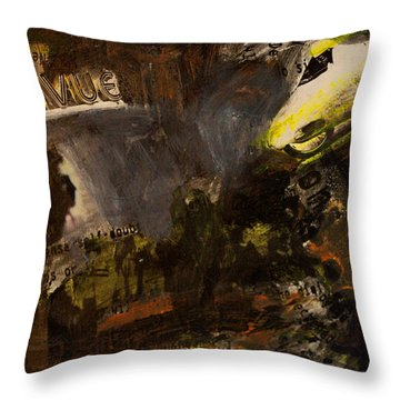 Revue/life Is Beautiful Throw Pillow