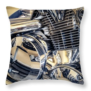 Revved Throw Pillow