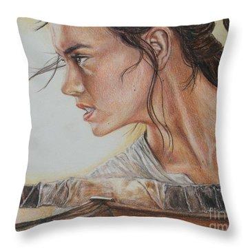 Rey Throw Pillow