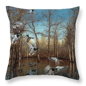 Reydel Hole Throw Pillow
