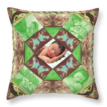 Reynard Quilt Throw Pillow