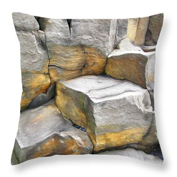 Reynisfjara Beach Throw Pillow