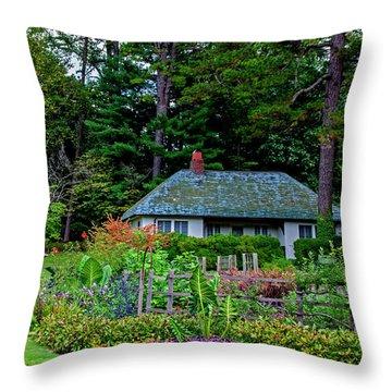 Reynolda Gardens Throw Pillow