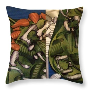 Rfb0105 Throw Pillow