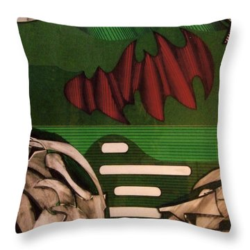 Rfb0110 Throw Pillow
