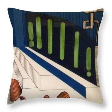 Rfb0111 Throw Pillow