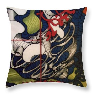Rfb0112 Throw Pillow