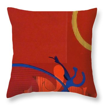 Rfb0118 Throw Pillow
