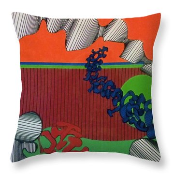 Rfb0124 Throw Pillow