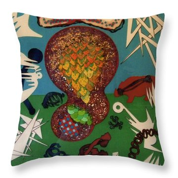 Rfb0126 Throw Pillow