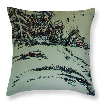 Rfb0201 Throw Pillow