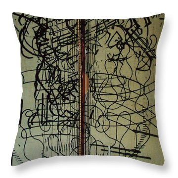 Rfb0203 Throw Pillow