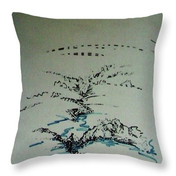 Rfb0206-2 Throw Pillow