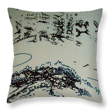 Rfb0210 Throw Pillow