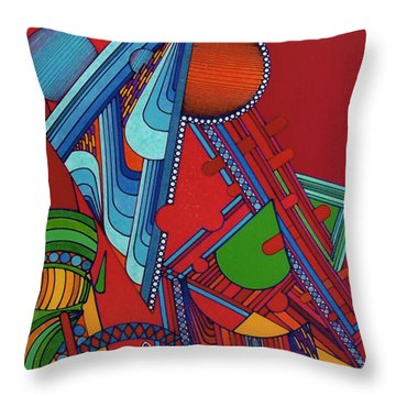 Rfb0301 Throw Pillow
