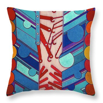 Rfb0304 Throw Pillow