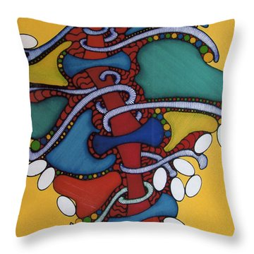 Rfb0400 Throw Pillow