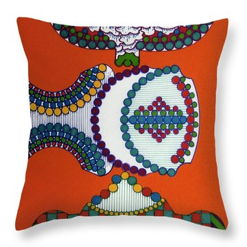 Rfb0402 Throw Pillow
