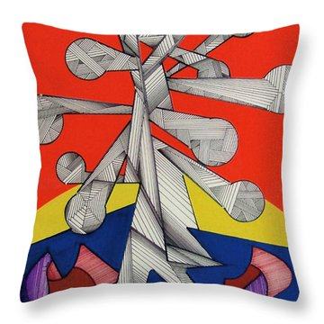 Rfb0501 Throw Pillow