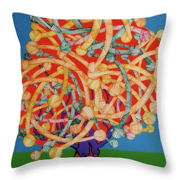 Rfb0504 Throw Pillow