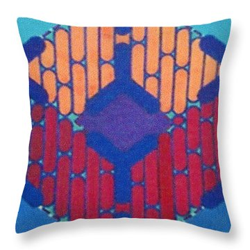 Throw Pillow featuring the drawing Rfb1015 by Robert F Battles