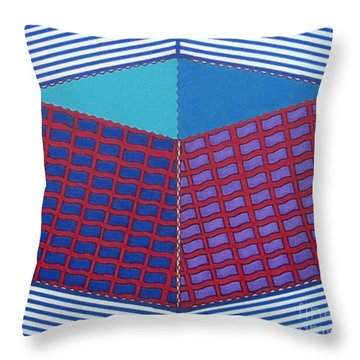 Throw Pillow featuring the drawing Rfb1016 by Robert F Battles