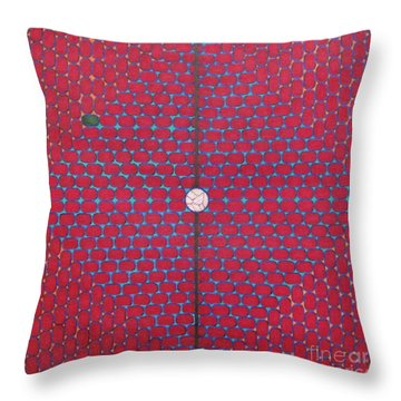 Throw Pillow featuring the drawing Rfb1020 by Robert F Battles
