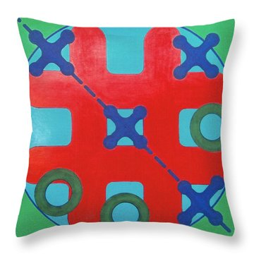 Throw Pillow featuring the drawing Rfb1023 by Robert F Battles
